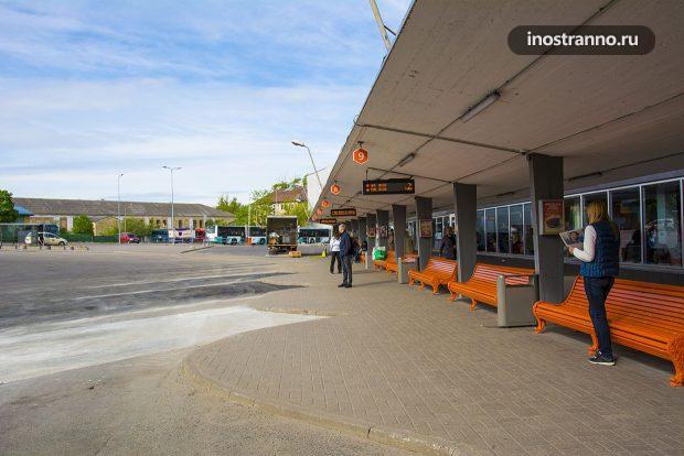 Главный автовокзал Таллина