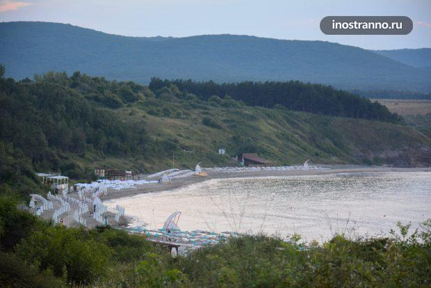 Пляж в Ахтополе, Болгария
