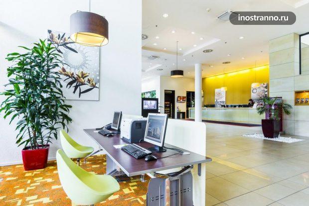 Отель в аэропорту Праги Courtyard by Marriott Hotel