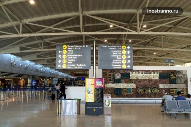 Аэропорт Ларнака на Кипре