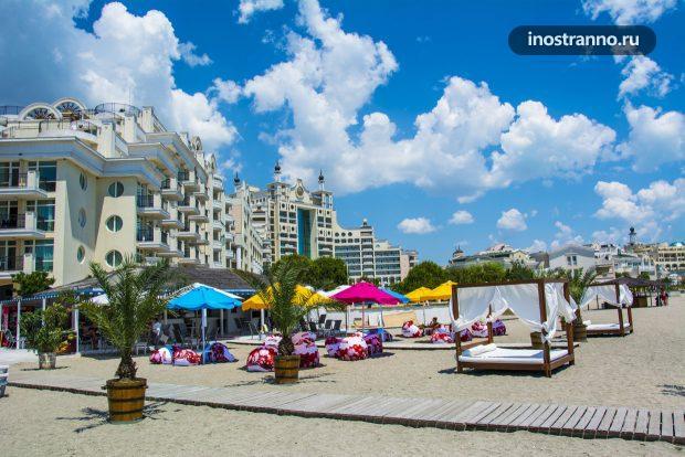 Отель Sunset Resort в Поморие, Болгария