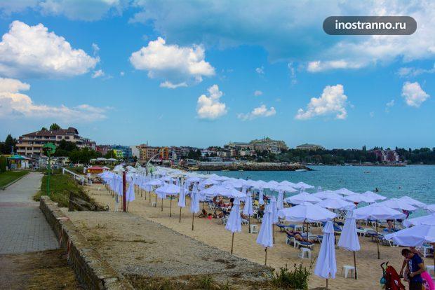 Пляж в Равде, Болгария