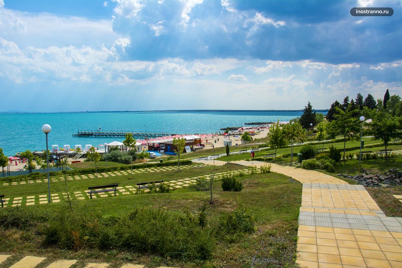 Южный пляж в Равде, Болгария