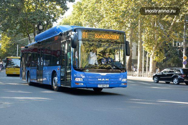 Автобус в Тбилиси