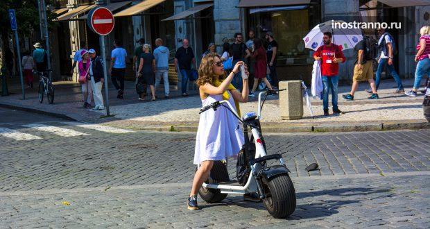 Необычный транспорт для передвижения по Праге