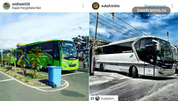 Автобус на Бали