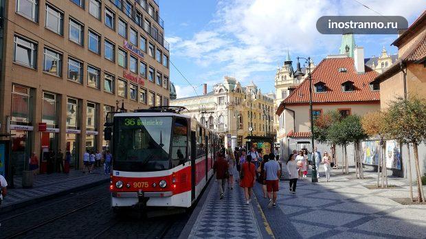Чешский трамвай