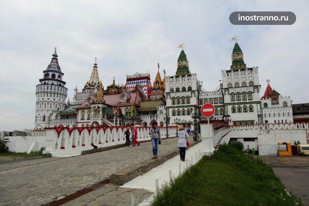 Достопримечательности Москвы, Измайловский кремль