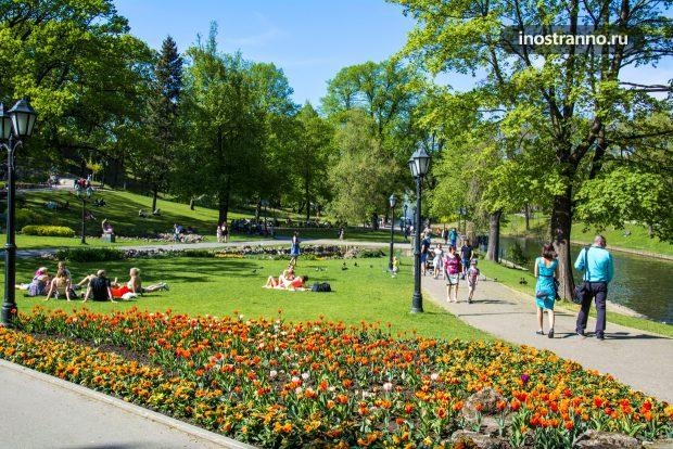 Парк в Риге