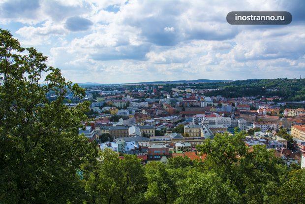 Панорама Брно