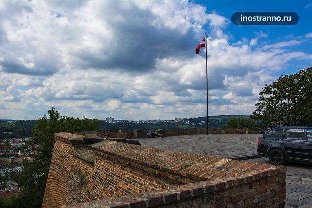 Укрепления замка Шпильберк