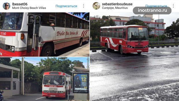 Автобус на Маврикии