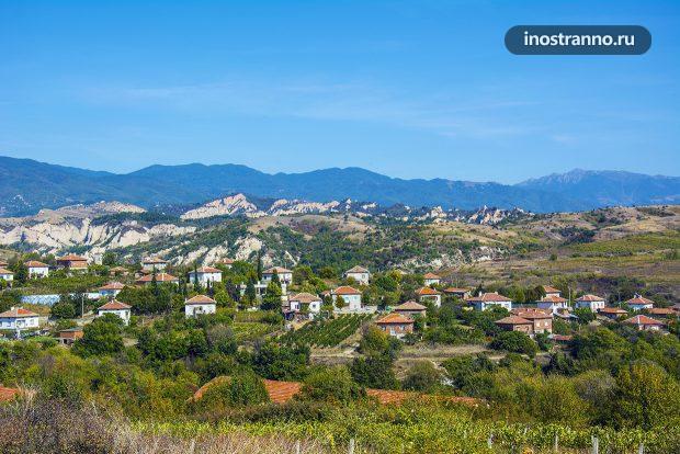 Болгарский город Мелник