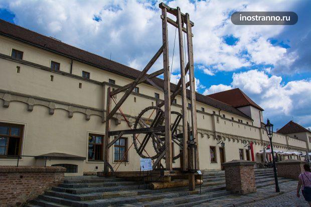 Музей в Брно в замке Шпильберк