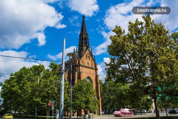 Протестантская Красная церковь Брно, Чехия