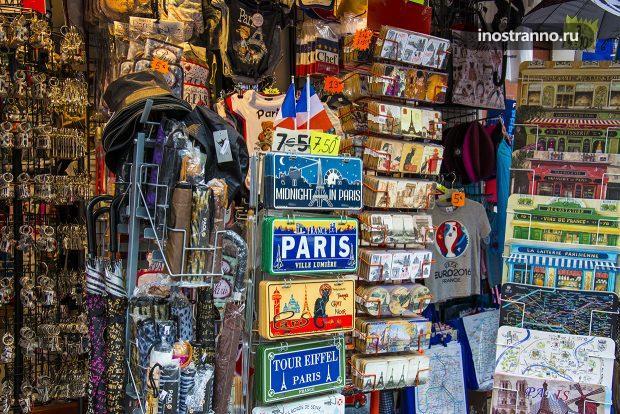 Сувениры из Парижа, что привезти