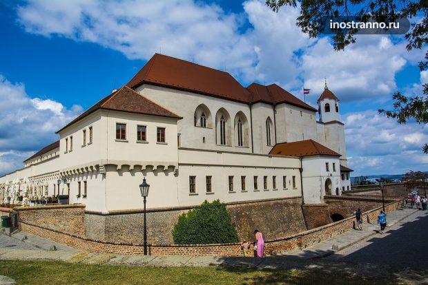 Замок Шпильберк в Брно
