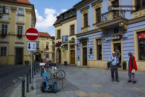 Улочки в городе Брно, Чехия