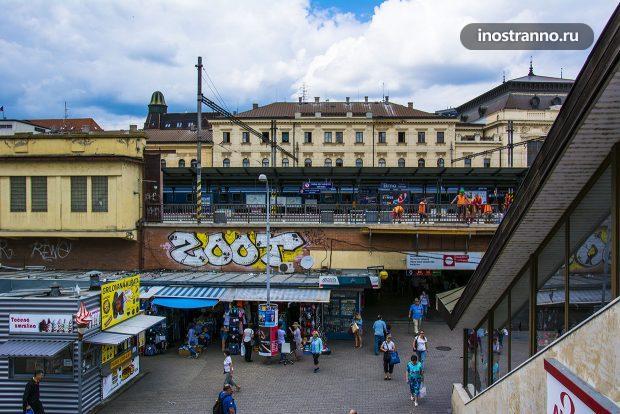 Вокзал в Брно