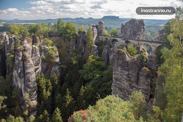 Мост Бастай в Германии