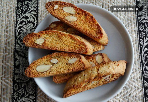 Итальянское печенье Кантуччини
