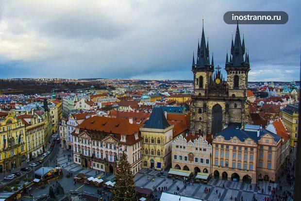 Пешеходная экскурсия по центру Праги