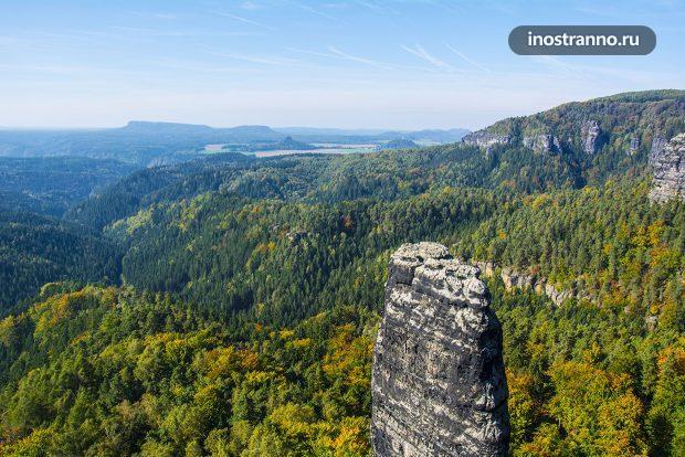 Пейзаж Чешская Швейцария