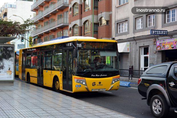 Городской автобус в Лас-Пальмас