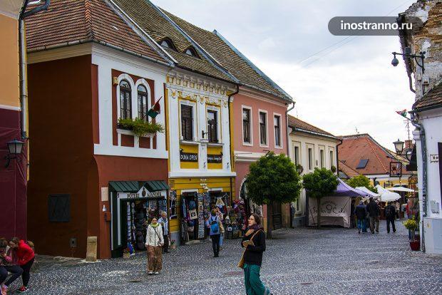 Венгерский город Сентендре
