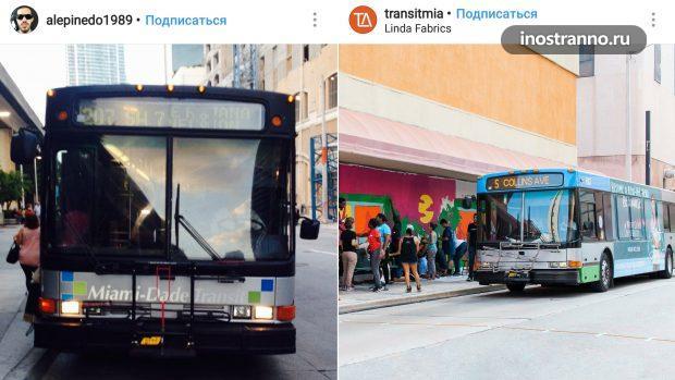 Автобус в Майами