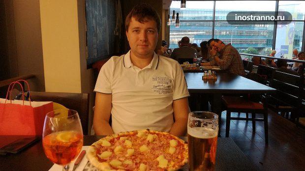 Итальянский ресторан в Праге Ristorante Pizzeria Corleone