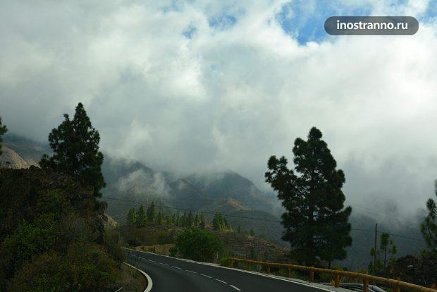 Горная дорога на Тенерифе