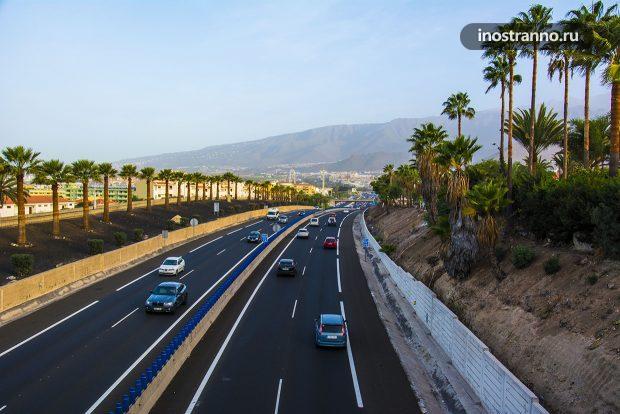Правила дорожного движения Испании