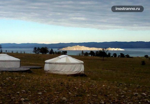 Аренда дома юрты на Байкале