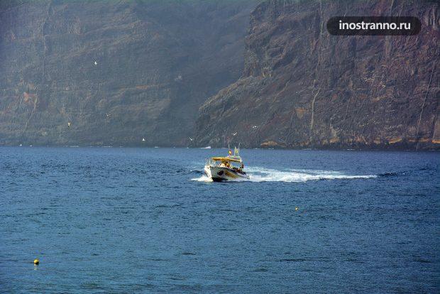Лодка на Канарских островах