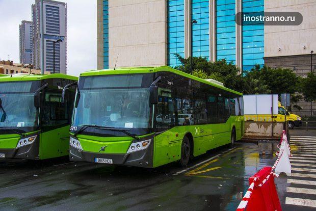 Автобус на Тенерифе