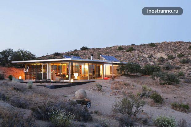Аренда дома в пустыни Калифорнии
