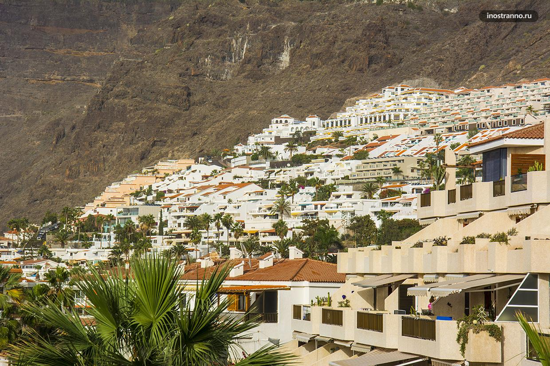 Отели и квартиры на Канарах в Лос-Гигантес