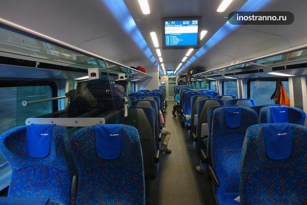 Поезд в Чехии