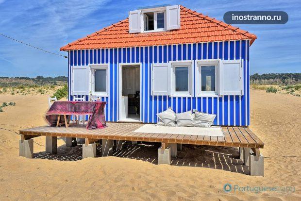 Дом на Атлантическом океане в Португалии