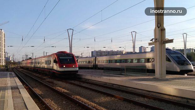 Лиссабон железнодорожный вокзал