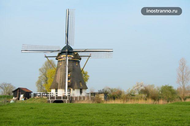 Аренда мельницы в Голландии Airbnb