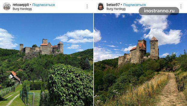 Крепость Хардегг в Австрии
