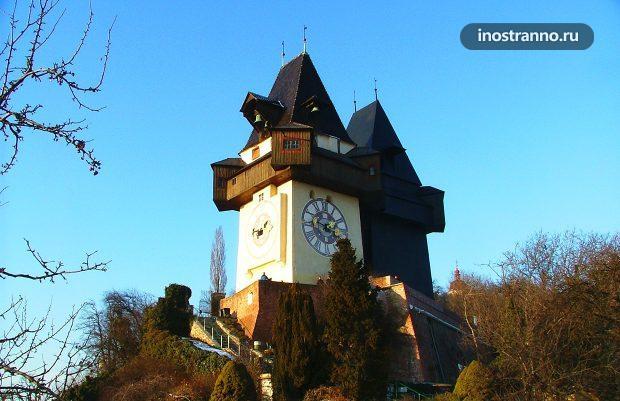 Город Грац в Австрии