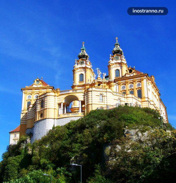 Бенедиктинский монастырь в Мельке экскурсия из Вены