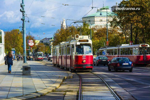 Исторический трамвай Вены