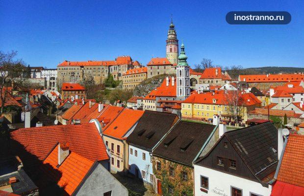 Исторический центр города Чешский Крумлов