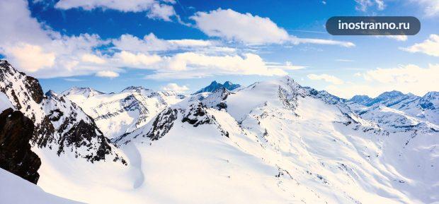 Самая высокая гора Австрии Гросглоккнер