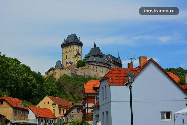 Замок Карлштейн около Праги
