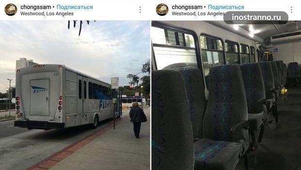 Как добраться из аэропорта Лос-Анджелеса на автобусе